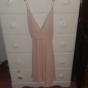 Latiste mini dress baby pink